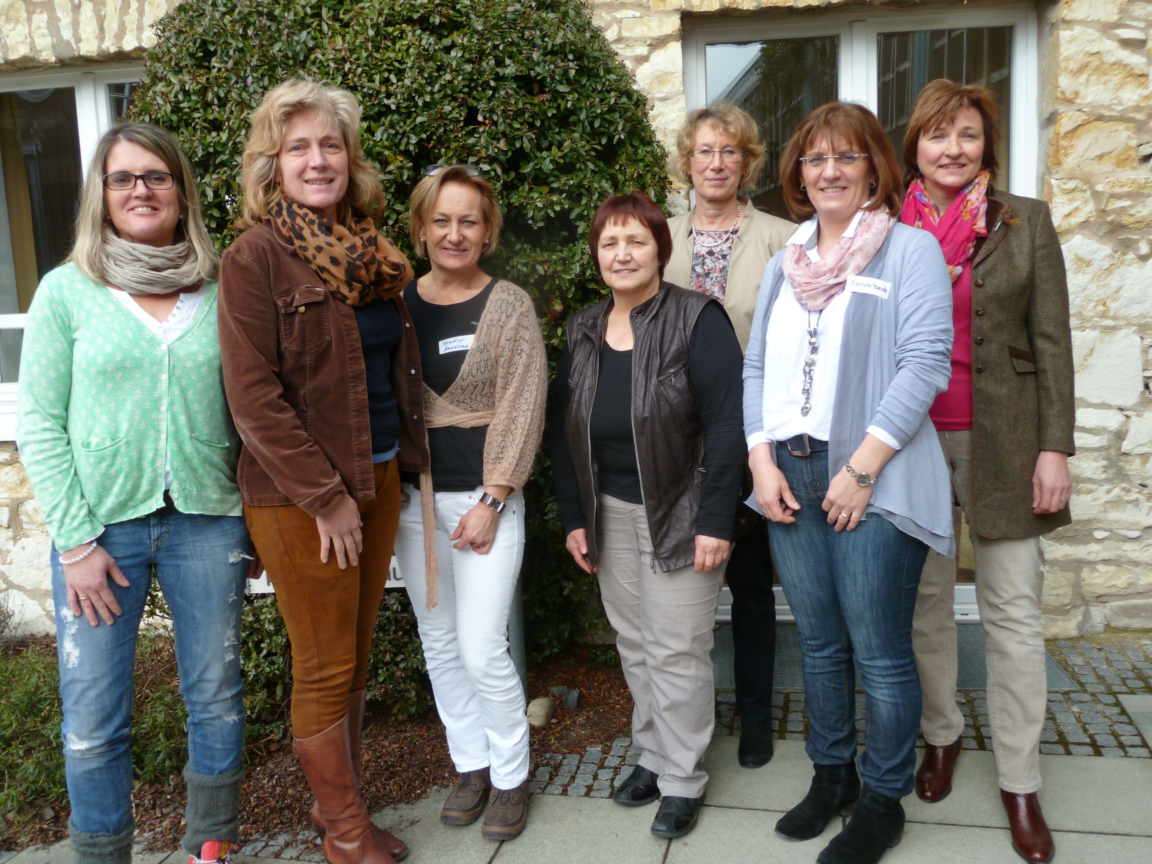 Melanie Hofmann, Monika Bauer, Anneliese Stadler, Else Oppelt, Elisabeth Loock, Elke Sendelbeck, Anita Sack.