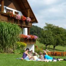 Liegewiese Ferienhaus Lochau